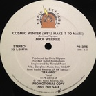 (12)Max Werner / Cosmic Winter (We'll Make It To Mars) (81) Radio Records