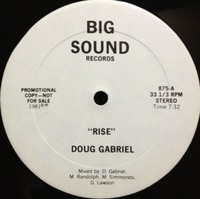 Doug Gabriel / Rise, Groovin' with the fellas (81)Big sound