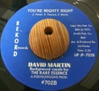 David Martin / You're Mighty Right (75)Rekord