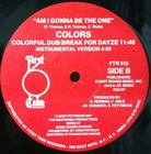 Colors / Am I Gonna Be The One (83)First Take